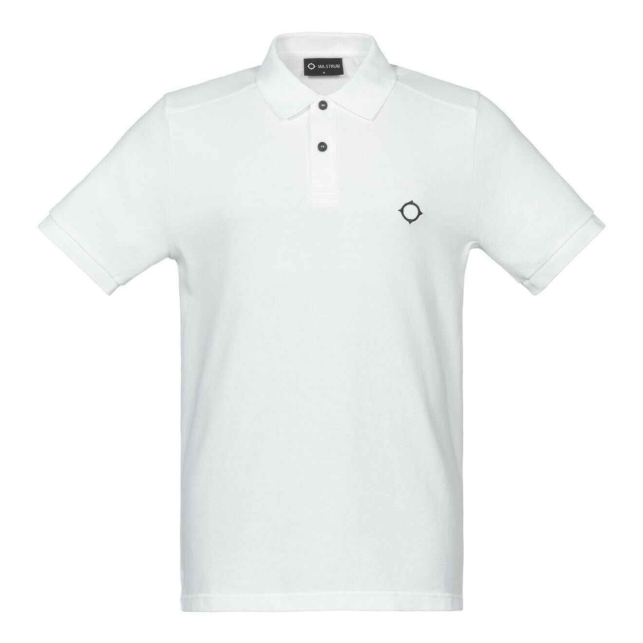 Mastrum | SS Pique Polo | Optic White