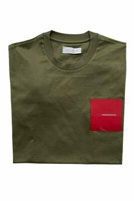 PMDS | T-Shirt Hania | Militair groen