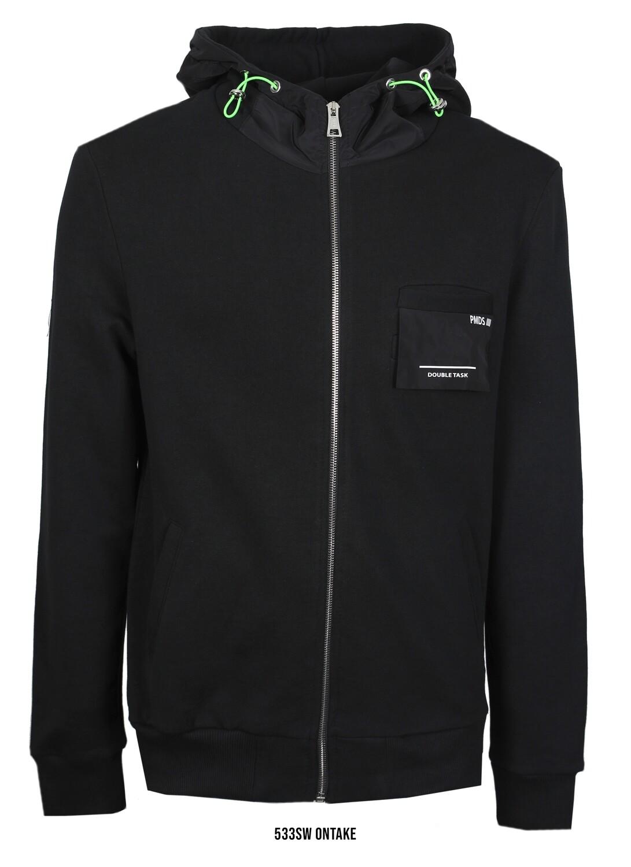PMDS | Hoodie Vest Ontake | Black