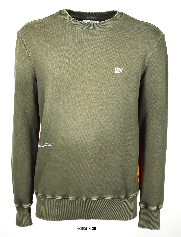 PMDS | Sweater Elsu | Militair groen