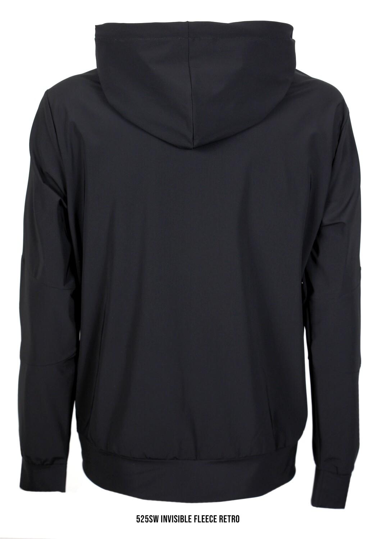 PMDS | Hoodie/vest Invisible Fleece | Black