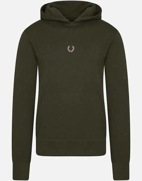 Fred Perry | Hoodie | Hunted Green