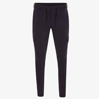 Genti | Cargo Stretch Pantalon | Navy