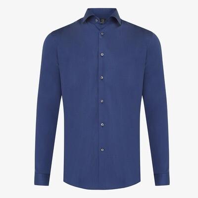 Genti | Skin Fit overhemd | Blue