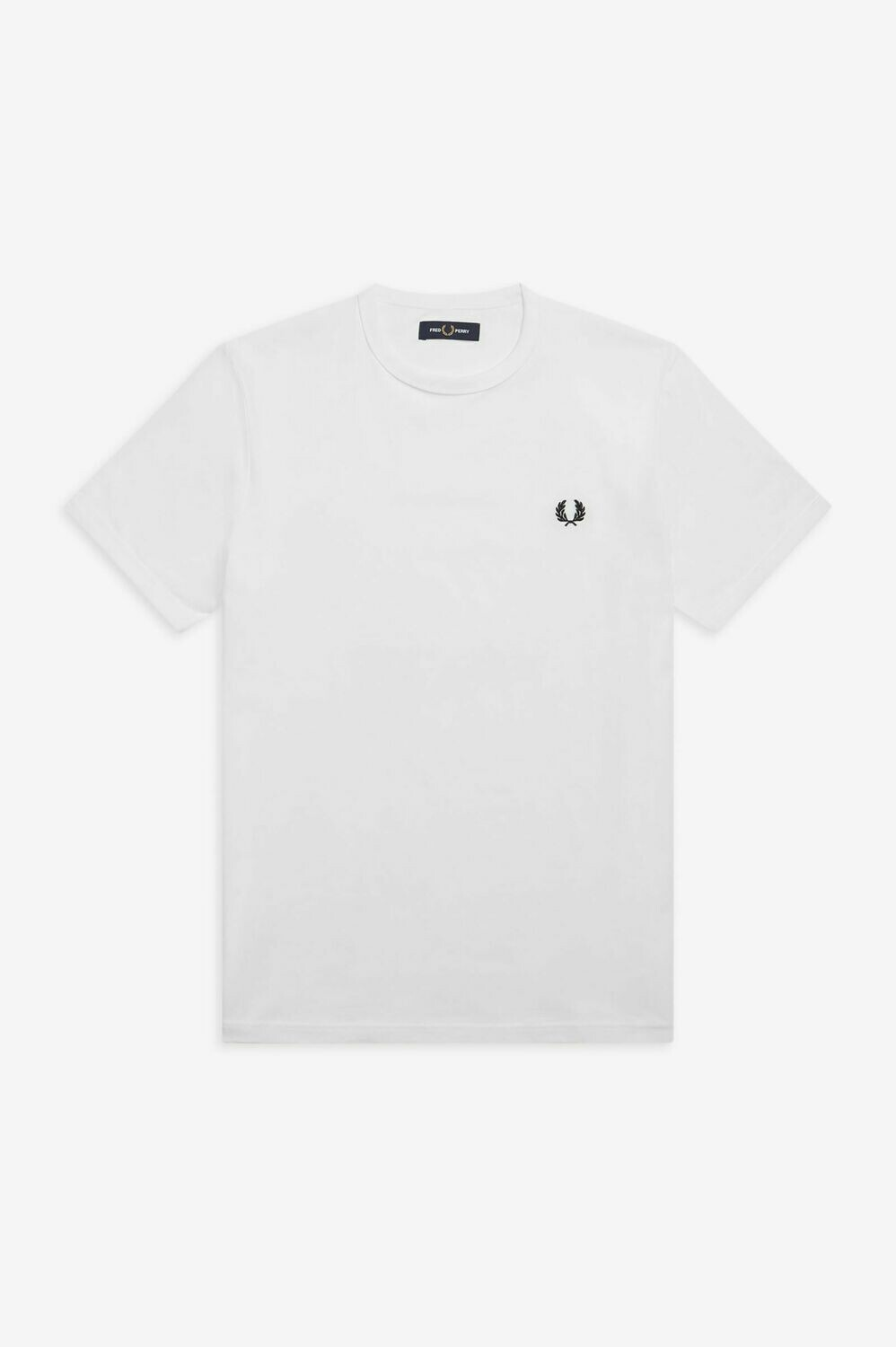 Fred Perry | Ringer T-Shirt | White