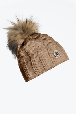 PARAJUMPERS   CABLE HAT   CAPPUCCINO