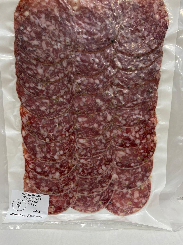Salami Finocchiona (Sliced)
