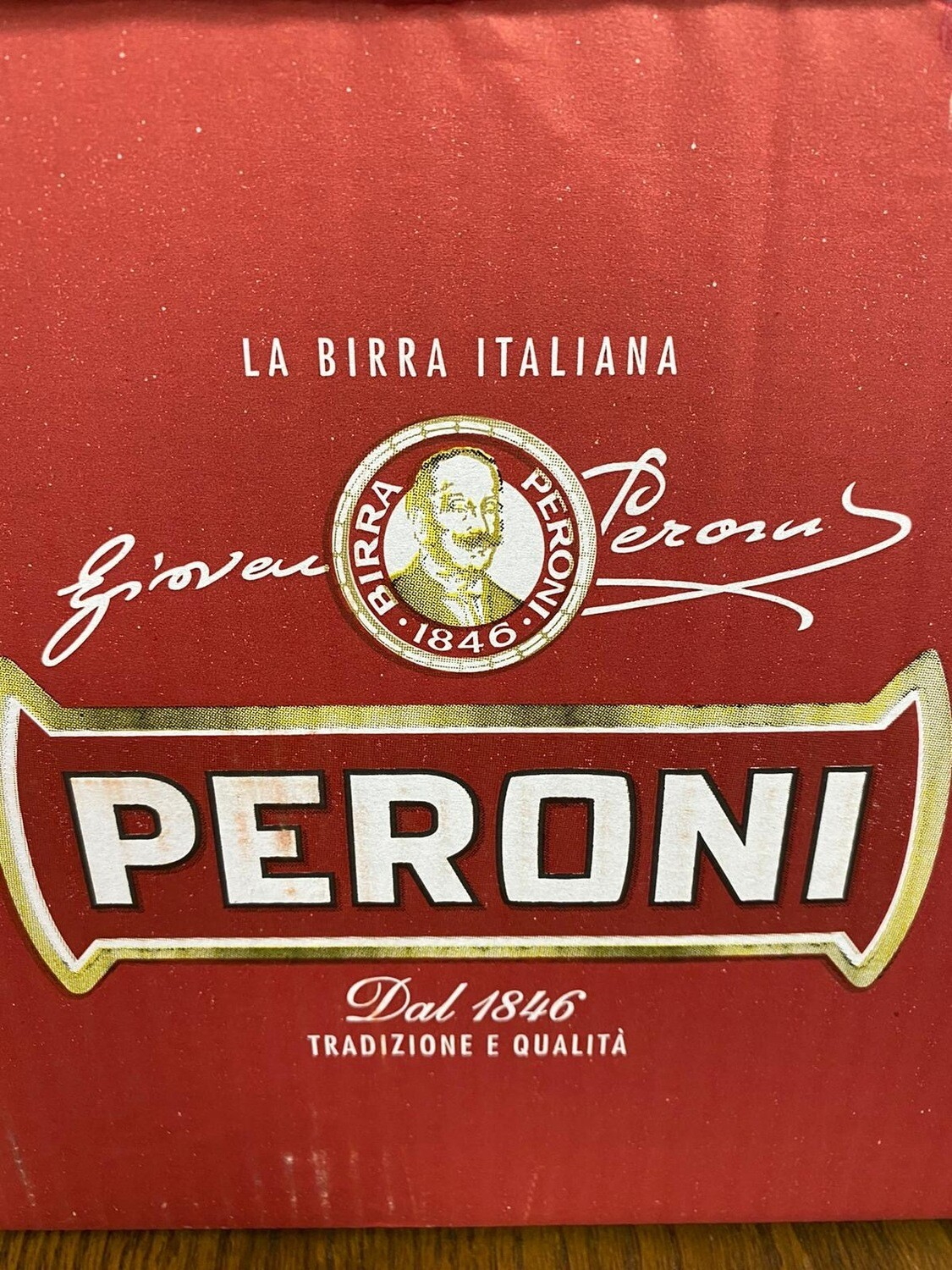 Birra peroni Red Label