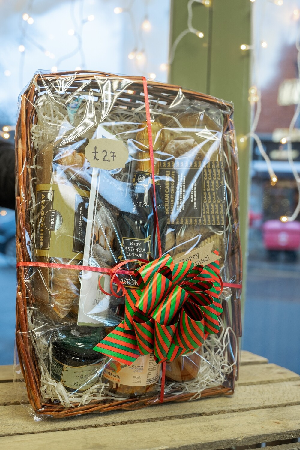 Hand-made Gift Basket Full of Italian Gifts #1