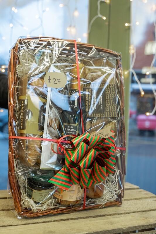 Hand-made Gift Basket Full of Italian Gifts #1