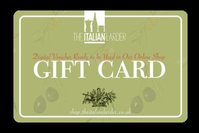 Italian Larder Gift card
