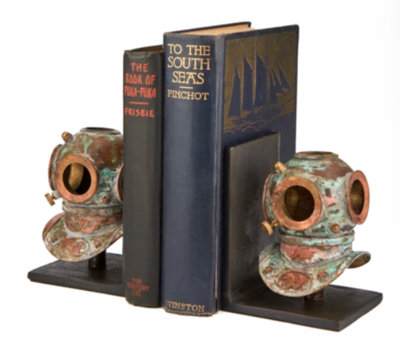 Bookends Diver Helmet