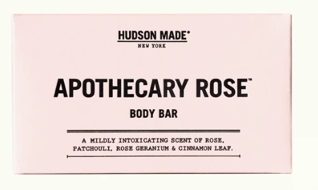 Apothecary Rose Body Bar