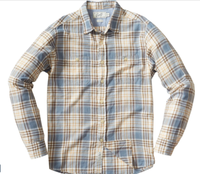 Grayers Herringbone Slub LS Shirt