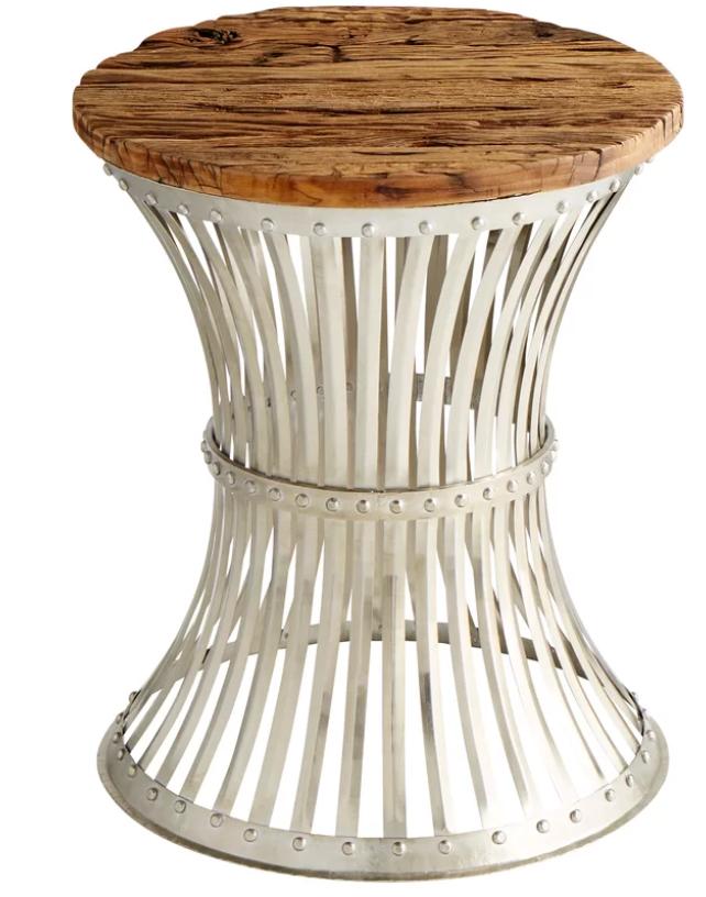 Reclaimed Wood Table w/Metal