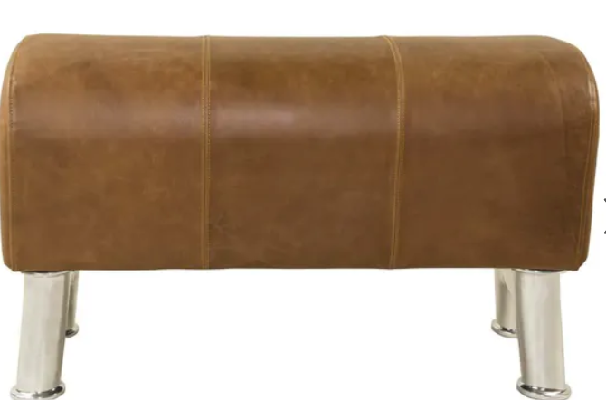Leather Pommel Bench