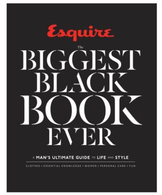 Esquire Biggest Black Book Ever