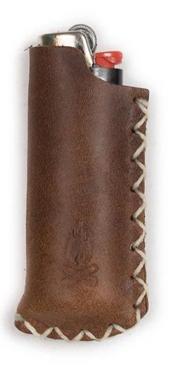 Leather Sleeve & Lighter