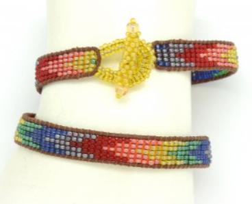 Zig Zag Bracelet Rainbow