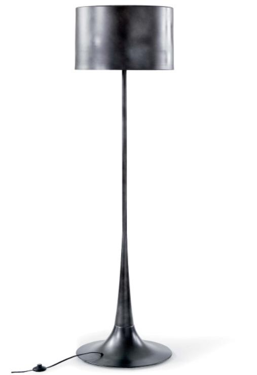 Black Iron Floor Lamp
