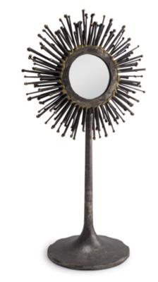 Spike Round Mirror