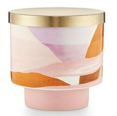 Lidded Ceramic - Coconut Milk Mango