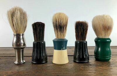 Vintage Shave Brush set/5