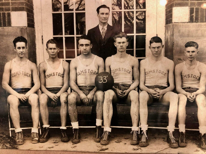 Vintage Basketball Photo
