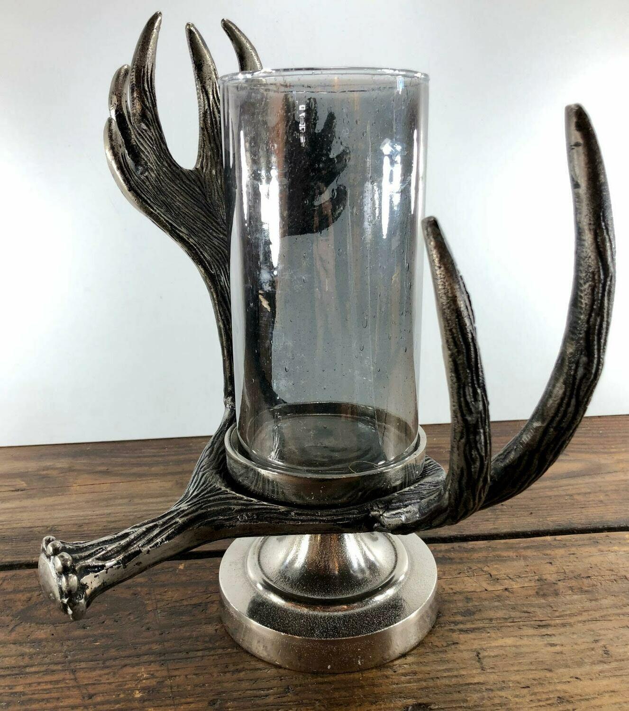 Candle Holder Elk Antler