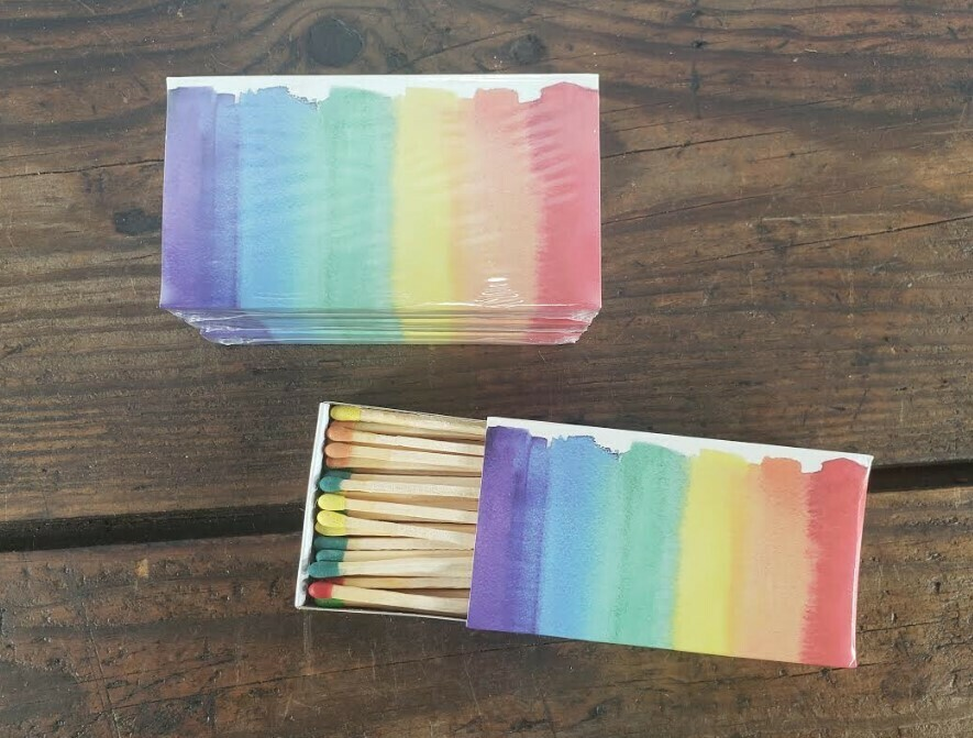 Box of Matches - Rainbow