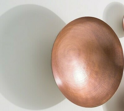 Wall Bowl - Antique Copper