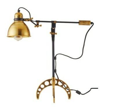 Brass Adjustable Lamp