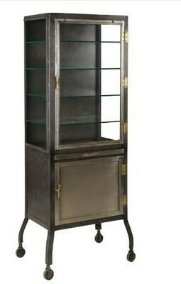 Iron Vitrine Cabinet