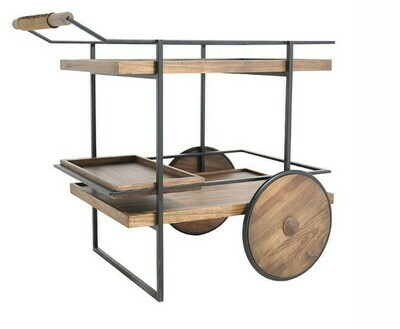 Iron& Elm Bar Cart