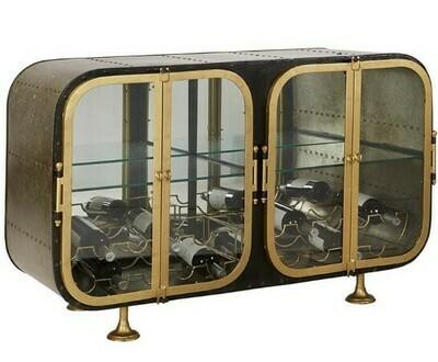 Porthole Console Table