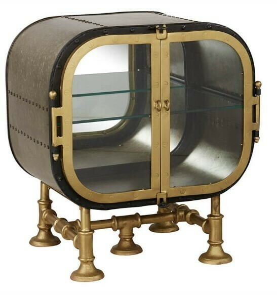Porthole Side Table