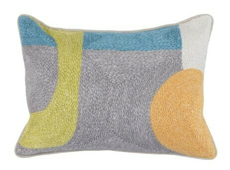 Multi Color Pillow 14x20