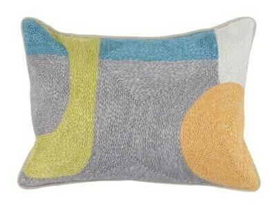 Multi Color Pillow 14x20