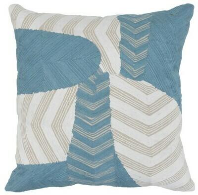 Blue & Ivory 20x20 Pillow