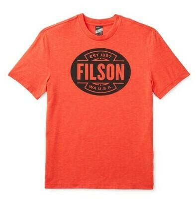 Filson Buckshot T-Shirt Red