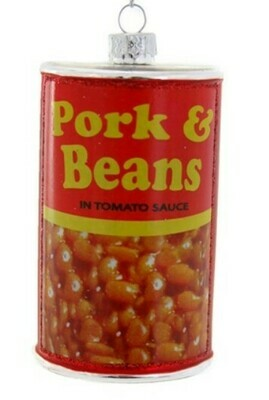 Pork & Beans Ornament