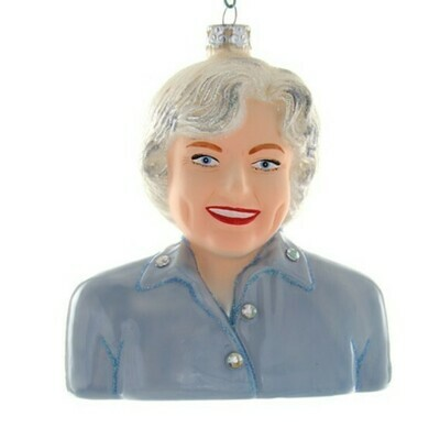 Betty White Ornament
