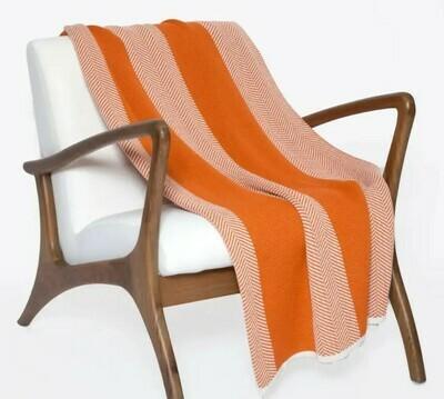 Poly Herringbone Outdoor Blanket