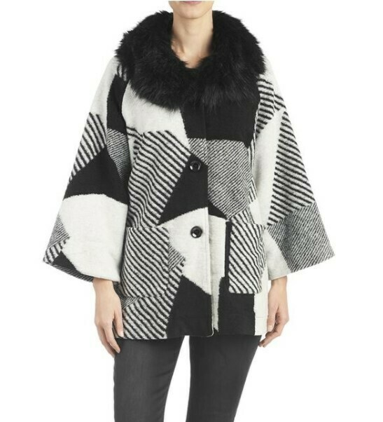 Abstract B&W Jacket