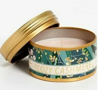 Cozy Cashmere Sm Tin Candle