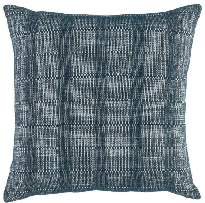 22x22 Blue DF Pillow