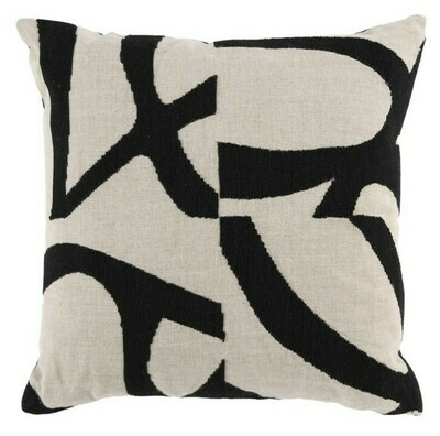 18x18 Abstract Pillow DF