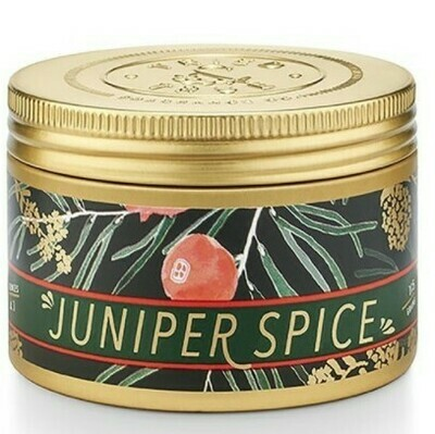 Juniper Spice SM Tin Candle
