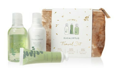 Eucalyptus Travel Set