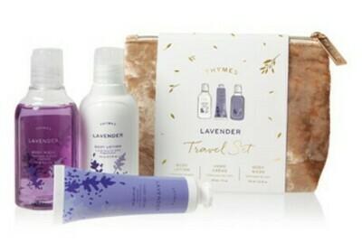 Lavender Travel Set